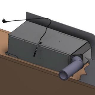 Kit d'installation pour climatiseur ARM15 [- Climatisation de caves à vin - WineMaster Fondis]