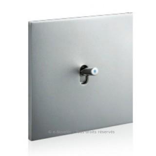 Acier satin [- Epure - Interrupteurs et prises électriques Art Collection - Arnould]