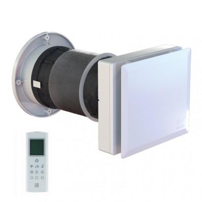 XWTH40 MONO EVO - Ø 150 mm - 40 m3/h - avec détection d'humidité et de de luminosité [- Extracteur Double flux - Vortice]