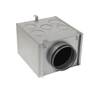 Caisson de répartition métallique 10 piquages - Optiflex [- Conduits Polyéthylène et accessoires VMC - Aldès]