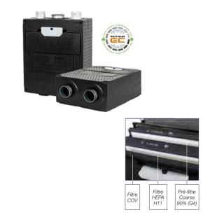 Accessoires AriaSalus [- Epurateur d'air centralisé et ventilation positive - Vortice / Nuaire]