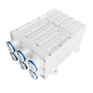 Caisson de distribution Gecoflex - DN125 - 6 x Ø 75 mm [ - Réseau Gecoflex - GECO]