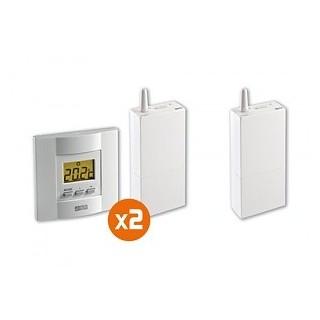 Pack TYBOX 4210 [- Pack Régulateur pour Tydom 4000 - 2 zones chaudière ou PAC non réversible- Delta Dore]
