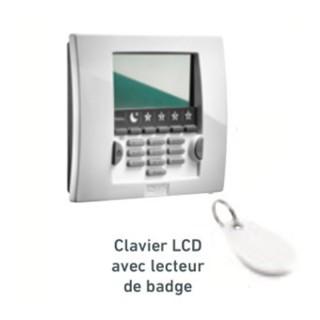 CLAVIER LCD ET 1 BADGE [- HOME KEEPER - Accessoire de sécurité - Somfy]