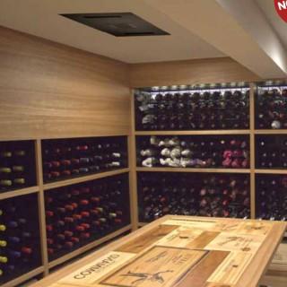WINE SP40-CE PRO [- Climatiseur de caves à vin - Jusqu'à 40 m3 - Winemaster Fondis]
