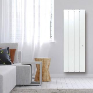 BELADOO Vertical - Blanc - Connecté [- Radiateur Inertie Fonte - Muller Intuitiv]