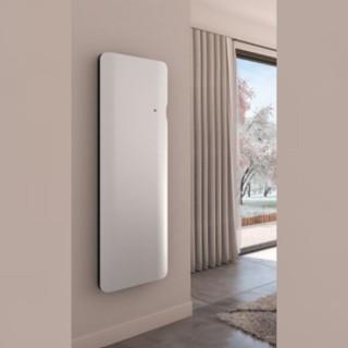 DOOK Vertical - Blanc - Connecté [- Radiateur Inertie Fonte - Muller Intuitiv - Noirot - Applimo - Airelec]