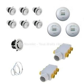 Kit accessoires DUOLIX TWIN / PRIMO installation pieuvre [- VMC Double Flux - Atlantic]