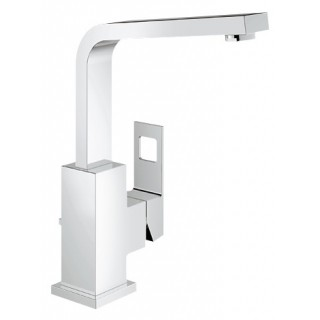 """EUROCUBE - Mitigeur monocommande 1/2"""" lavabo Bec mobile [- Robinetterie salle de bains - GROHE]"""