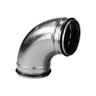 Coude galva 90° avec joint [- accessoires galvanisés VMC - Unelvent / Atlantic]