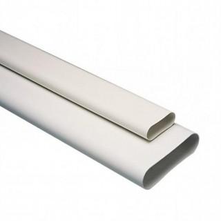 Conduit PVC équivalent Ø 80 et 125 mm [- conduits rigides plastique Minigaine pour ventilation - ALDES]