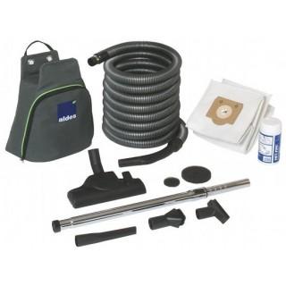 Set de nettoyage complémentaire Middle Filaire pour Centrale DOOBLE [- Accessoires Centrale d'aspiration - Aldès]