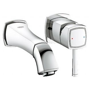GRANDERA - Mitigeur monocommande 2 trous lavabo saillie 177 mm [- Robinetterie salle de bains - GROHE]