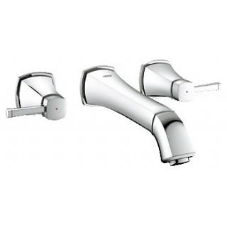 """GRANDERA - Mélangeur 3 trous 1/2"""" Lavabo - Saillie 234 mm [- Robinetterie salle de bains - GROHE]"""