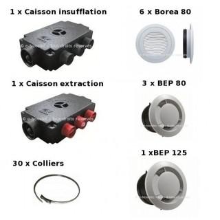 Kit Accessoires Prometeo HR 6 piquages [- VMC Double flux - Vortice]