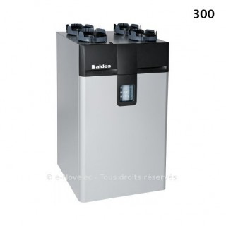 Dee Fly Cube 300 HE Micro-watt - Autoréglable et Hygroréglable [- VMC Double flux - Aldès]