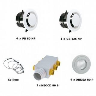 Kit accessoires double flux PRIMOCOSY [- VMC Double Flux - Atlantic]