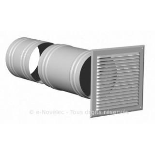 Prise ou sortie d'air télescopique Ø 125 mm [- Ventilation - Vortice]