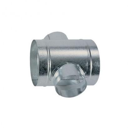 Croix équerre - Ø 125 à 200 mm [- accessoires galvanisés VMC - Atlantic]