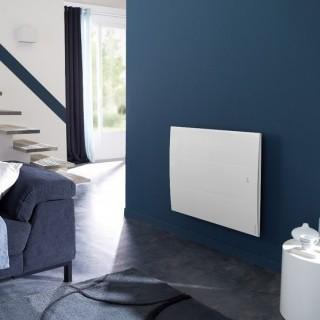 ONIRIS Connecté Blanc - Horizontal - Pilotage Intelligent [- Radiateur Inertie Aluminium - Atlantic]