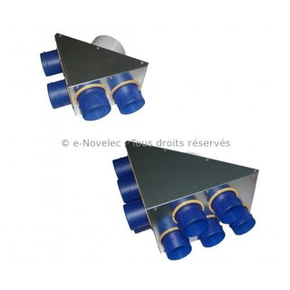 Répartiteurs AKOR (4 ou 10 piquages) [- accessoire VMC - Unelvent]