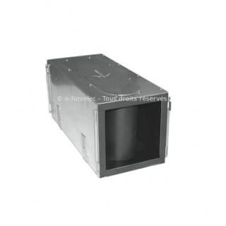 Caisson silencieux de répartition 4 piquages - ComfoWell 220 [- sans plaques de raccordement - Réseau PEHD ComfoTube - Zehnder]