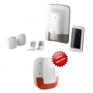 PROMOTION : Pack TYXAL+ avec sirène extérieure offerte [- Gamme X3D - Pack alarme sans fil préconfiguré - Delta Dore]