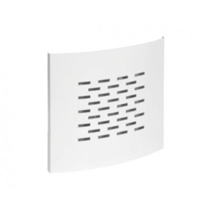 Grille carrée D125 + Filtre - Optiflex [- Conduits Polyéthylène et accessoires VMC - Aldès]