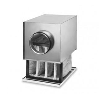 Caisson filtre F7 pour conduits circulaires - LFBR [- Filtration conduits galva - Helios]