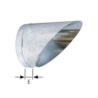 Buse sifflet BUS - Entrée ou de sortie d'air murale - Ø 125 à 630 mm [- accessoire VMC - Atlantic]