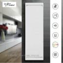 CALIDOU Vertical - Blanc - Smart ECOControl [- Radiateur Inertie Fonte - Noirot]