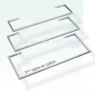 3ème Barre porte-serviettes pour Solaris (Largeur 45 cm) [- Accessoire Sèche-serviettes - Fondis]