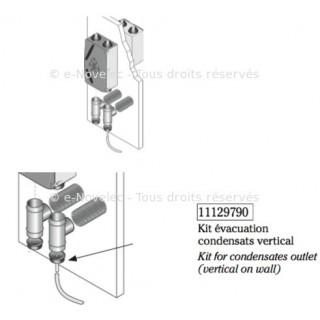 Kit condensats Dee Fly Modulo pour montage mural Vertical [- Fixation VMC double flux - ALDES]
