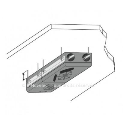 Kit suspension plafond Echangeur / Moteur Dee Fly Modulo [- Fixation VMC double flux - ALDES]