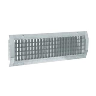 Grille de diffusion d'air pour conduits galva - GD 102 D F1 [- accessoires galvanisés VMC - Aldès]