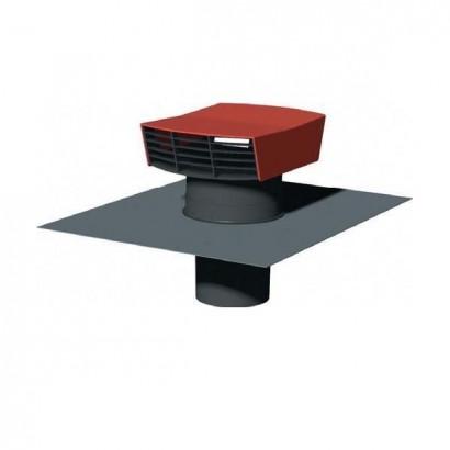 Chapeau de toiture plastique CT-P - Ø 125 ou 150/160 mm [- Sortie toiture VMC - Unelvent]