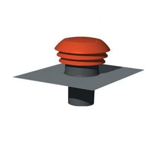 Chapeau de toiture plastique CPR - Ø 125 ou 150/160 mm [- Sortie toiture VMC - Unelvent]
