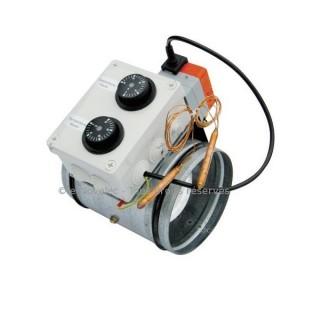 Registre motorisé REDT commandé par 2 sondes - Ø 160 à 355 mm [- Registres - Unelvent]