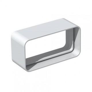 Manchon rectangulaire - MCR [- conduits PVC de Ventilation - Unelvent]