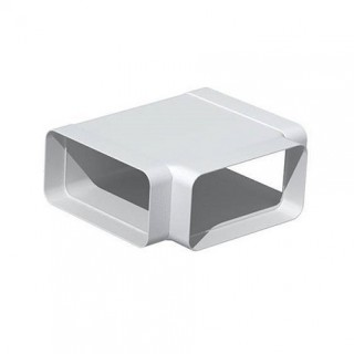 Té horizontal rectangulaire - THR [- conduits PVC de Ventilation - Unelvent]