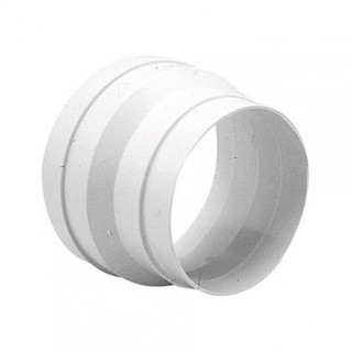 Réduction conique Ø 100/80, 125/100, 150/125, 160/125 ou 200/160 - RED [- accessoire conduits PVC - Unelvent]