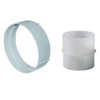 Manchon circulaire Ø 80 ou 100 mm - MRT et MCC [- conduits PVC de Ventilation - Unelvent]