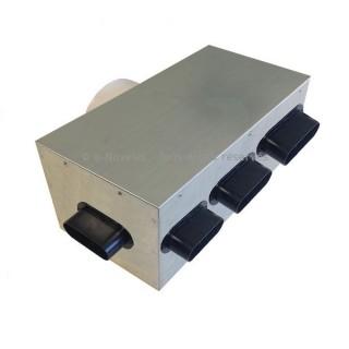 Plénum isolé 5 piquages - PLI 50/5P [- réseau VMC PEHD - Serie PLUGGIT - Unelvent]