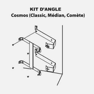 Kit d'Angle - COSMOS Soleil 3.0 Etroit [- Accessoire panneau rayonnant - Campa]