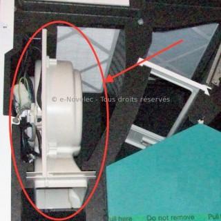 Motoventilateur pour VMC IDEO 275 (sans module de commande) [- pièce détachée - Unelvent - Ni repris ni échangé]