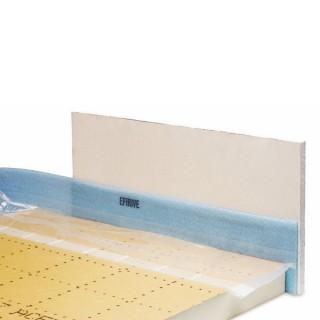 Bande de rive Efirive largeur 120 mm ép. 5 mm - Rouleau 50 m [- Isolant pour plancher chauffant électrique - EFYOS SOPREMA]