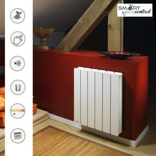 BELLAGIO Horizontal - Blanc - Smart ECOcontrol [- Radiateur Inertie Fonte - Noirot]