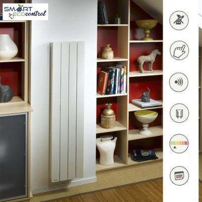 BELLAGIO Vertical - Blanc - Smart ECOcontrol [- Radiateur Inertie Fonte - Noirot]