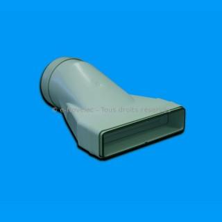 Manchon mixte à joints - MCMV [- conduits PVC de Ventilation - Unelvent]