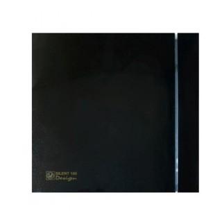 SILENT 100 DESIGN BLACK [- Aérateur axial silencieux - Ventilation mécanique ponctuelle - Unelvent]